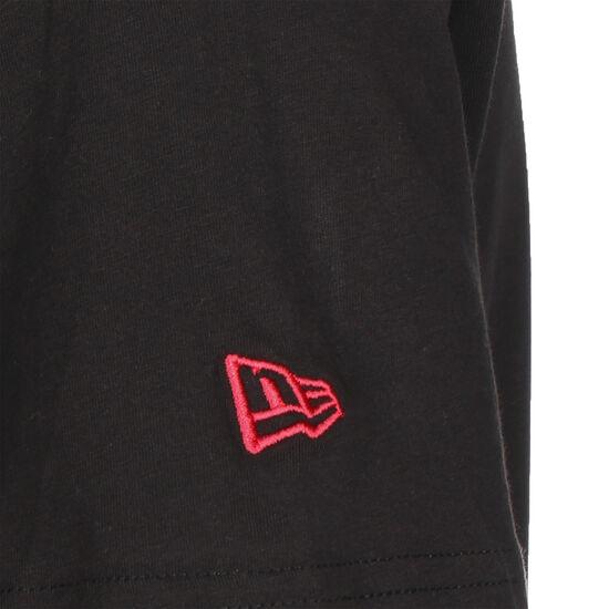 NBA Chicago Bulls Chain Stitch T-Shirt Herren, schwarz / rot, zoom bei OUTFITTER Online