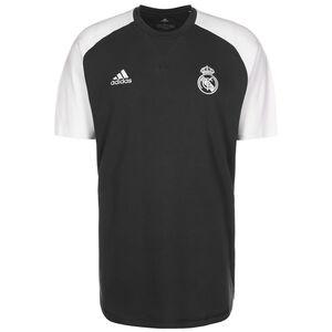 Real Madrid Travel T-Shirt Herren, anthrazit / weiß, zoom bei OUTFITTER Online