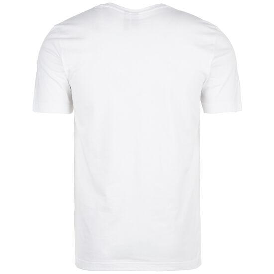 Emblem Trainingsshirt Herren, weiß / schwarz, zoom bei OUTFITTER Online