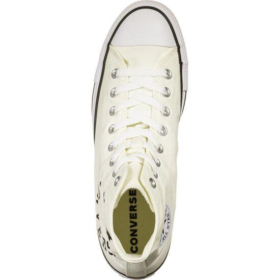 Chuck Taylor All Star Smile High Sneaker Herren, weiß / schwarz, zoom bei OUTFITTER Online
