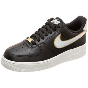 Air Force 1 '07 Metallic Sneaker Damen, schwarz / gold, zoom bei OUTFITTER Online