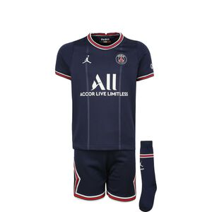Paris St.-Germain Minikit Home 2021/2022 Kleinkinder, dunkelblau / rot, zoom bei OUTFITTER Online