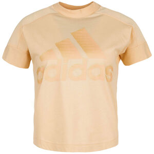 ID Glam T-Shirt Damen, apricot, zoom bei OUTFITTER Online