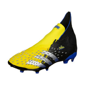 Predator Freak + FG Fußballschuh Kinder, gelb / schwarz, zoom bei OUTFITTER Online