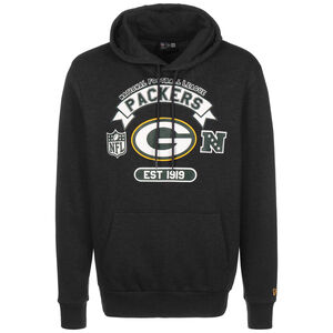 NFL Green Bay Packers Graphic Kapuzenpullover Herren, anthrazit / weiß, zoom bei OUTFITTER Online