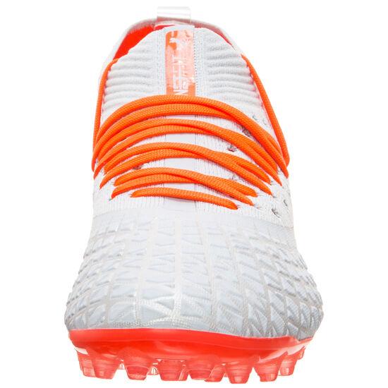 Future 4.2 Netfit MG Fußballschuh Herren, hellblau / orange, zoom bei OUTFITTER Online