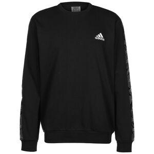 Essentials Tape Sweatshirt Herren, schwarz / weiß, zoom bei OUTFITTER Online