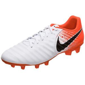 Tiempo Legend VII Academy FG Fußballschuh Herren, weiß / orange, zoom bei OUTFITTER Online