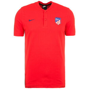 Atletico Madrid Poloshirt Herren, rot / blau, zoom bei OUTFITTER Online