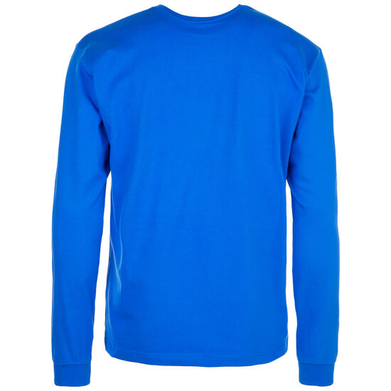 Sport Style Optiks Sleeve Hit Sweatshirt Herren, blau / weiß, zoom bei OUTFITTER Online