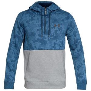 Threadborne Half Zip Kapuzenpullover Herren, blau / grau, zoom bei OUTFITTER Online