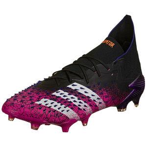 Predator Freak .1 FG Fußballschuh Herren, schwarz / pink, zoom bei OUTFITTER Online