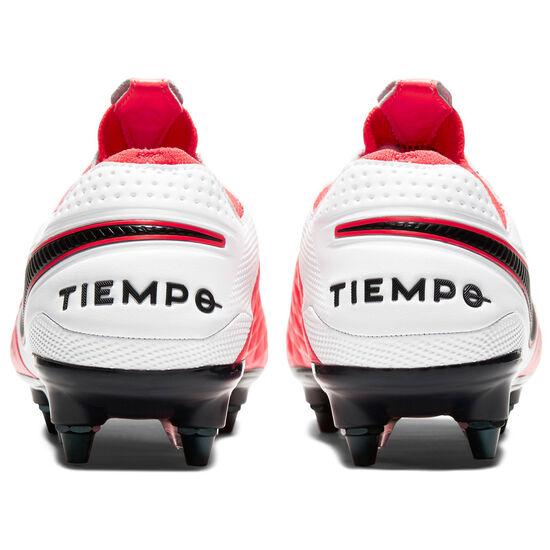 Tiempo Legend 8 Elite SG-Pro AC Fußballschuh Herren, neonrot / schwarz, zoom bei OUTFITTER Online