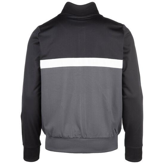 Panelled Track Top Trainingsjacke Herren, schwarz / grau, zoom bei OUTFITTER Online