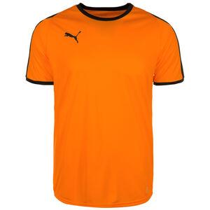 Liga Fußballtrikot Herren, orange / schwarz, zoom bei OUTFITTER Online