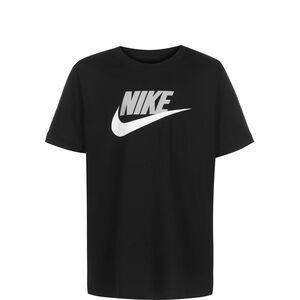 Sportswear T-Shirt Kinder, schwarz / hellgrau, zoom bei OUTFITTER Online