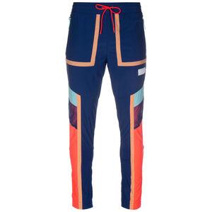 Court Side Basketballhose Herren, blau / bunt, zoom bei OUTFITTER Online