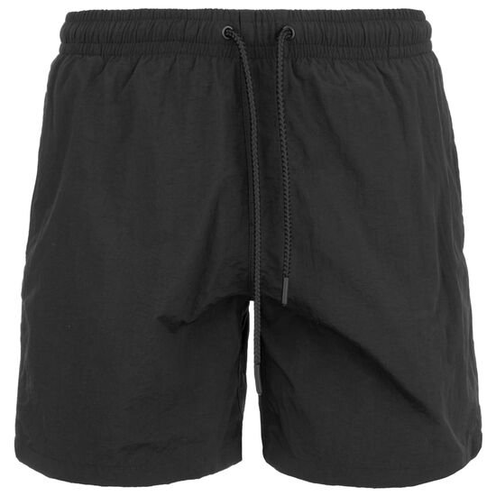 Two in One Swim Shorts Herren, schwarz / weiß, zoom bei OUTFITTER Online