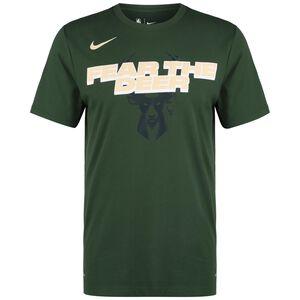 NBA Milwaukee Bucks Mantra Dry T-Shirt Herren, dunkelgrün, zoom bei OUTFITTER Online