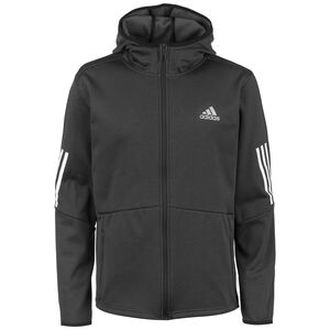 FZ Hooded Trainingsjacke Herren, schwarz / weiß, zoom bei OUTFITTER Online