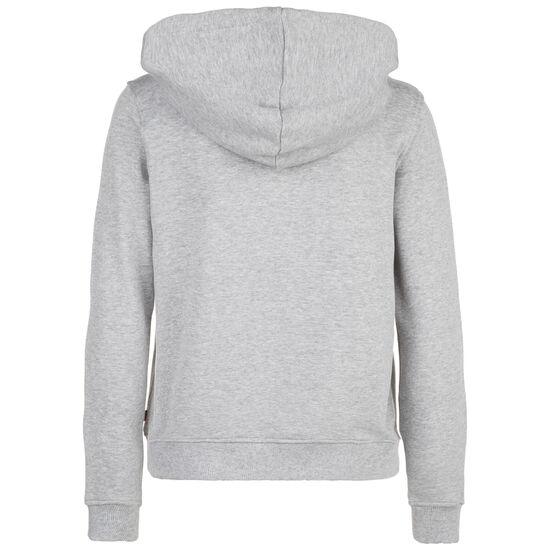 Classic Logo Kapuzenjacke Damen, grau / weiß, zoom bei OUTFITTER Online