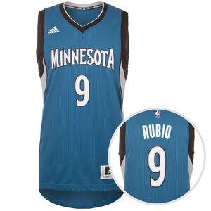 Minnesota Rubio Swingman Basketballtrikot Herren, Blau, zoom bei OUTFITTER Online