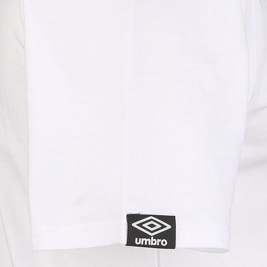 Linear Logo Graphic T-Shirt Herren, weiß / schwarz, zoom bei OUTFITTER Online