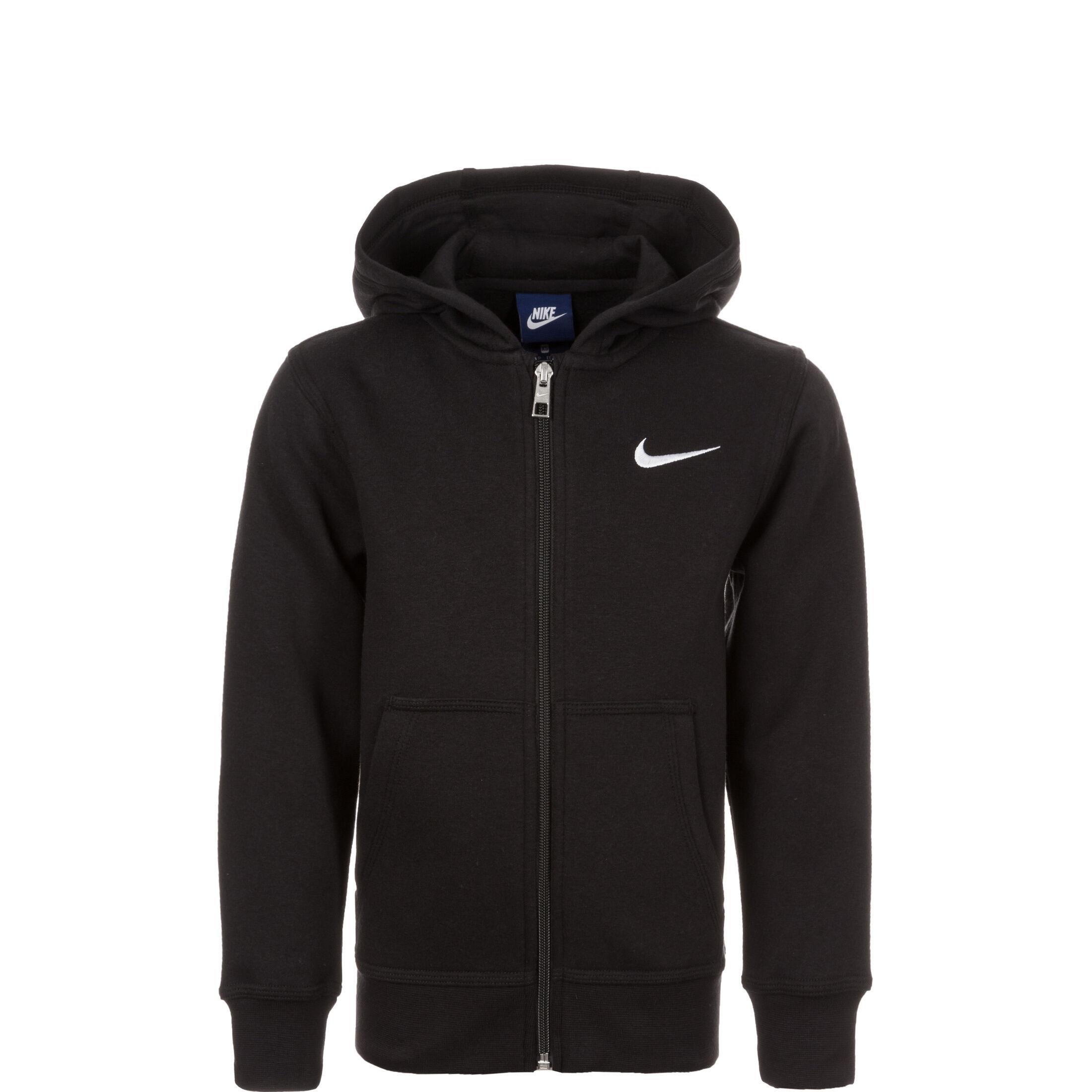 Nike Hoodie FZ YA76 Fleece GrauWeiß Kinder