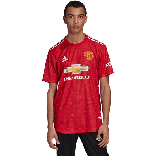 Manchester United Trikot Home Authentic 2020/2021 Herren, rot / schwarz, zoom bei OUTFITTER Online