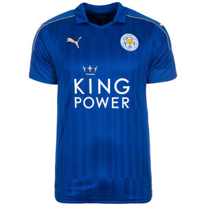 Leicester City Trikot Home 2016/2017 Herren, Blau, zoom bei OUTFITTER Online