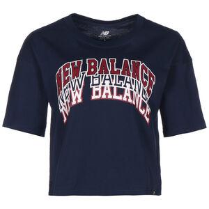 Athletics Varsity Graphic T-Shirt Damen, dunkelblau / weinrot, zoom bei OUTFITTER Online