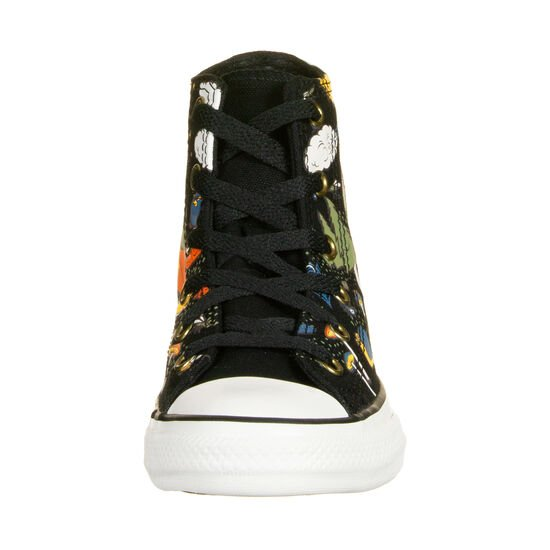 Chuck Taylor All Star High Sneaker Kinder, schwarz / bunt, zoom bei OUTFITTER Online