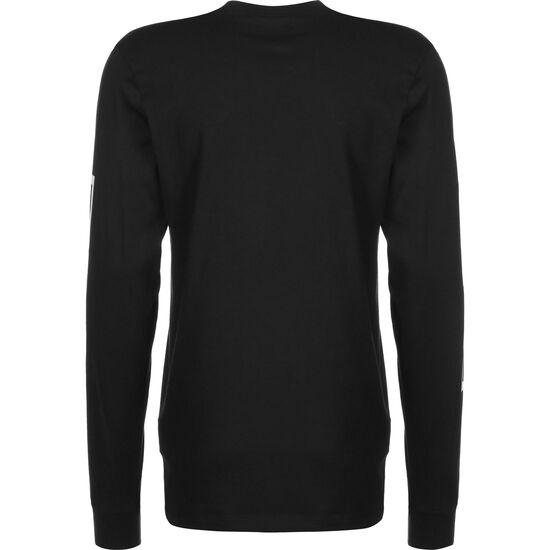 Paris St.-Germain Longsleeve Herren, schwarz / weiß, zoom bei OUTFITTER Online