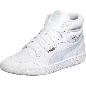 Ralph Sampson Mid Sneaker, weiß / hellblau, zoom bei OUTFITTER Online