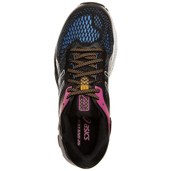 Gel-Kayano 26 Laufschuh Damen, schwarz / blau, zoom bei OUTFITTER Online