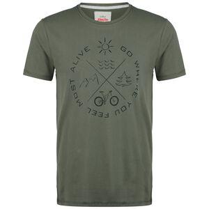 Most Alive T-Shirt Herren, oliv / schwarz, zoom bei OUTFITTER Online