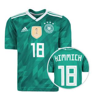 DFB Trikot Away Kimmich WM 2018 Kinder, Grün, zoom bei OUTFITTER Online