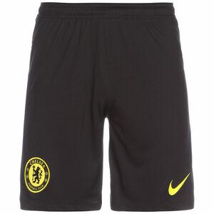 FC Chelsea Shorts Away Stadium 2021/2022 Herren, schwarz / gelb, zoom bei OUTFITTER Online