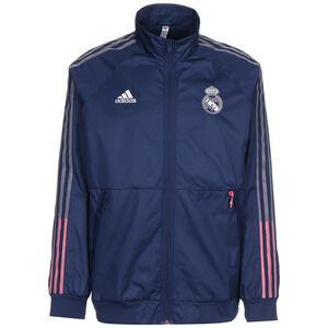 Real Madrid Anthem Jacke Herren, dunkelblau / rot, zoom bei OUTFITTER Online