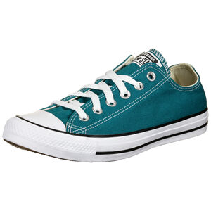 Chuck Taylor All Star Seasonal Color OX Sneaker, petrol / weiß, zoom bei OUTFITTER Online