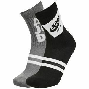 Legacy Jumpman Classics Crew Socken 2er Pack, schwarz / weiß, zoom bei OUTFITTER Online