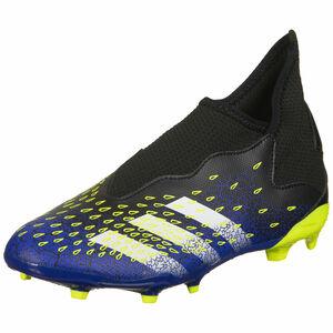 Predator Freak .3 Laceless FG Fußballschuh Kinder, schwarz / blau, zoom bei OUTFITTER Online