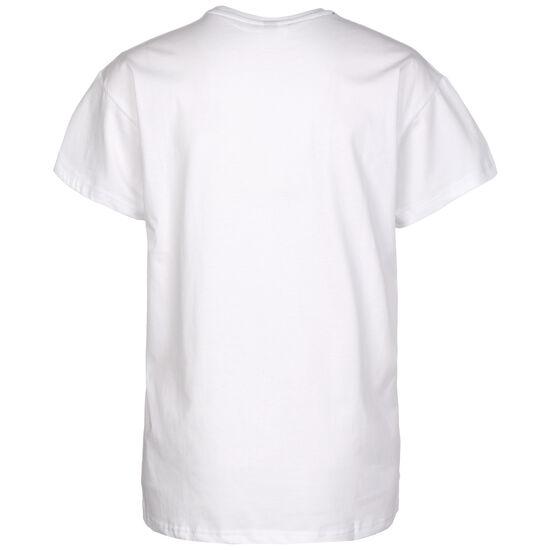 Colorblock Unes T-Shirt Damen, rot / weiß, zoom bei OUTFITTER Online