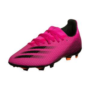 X Ghosted.3 FG Fußballschuh Kinder, pink / schwarz, zoom bei OUTFITTER Online