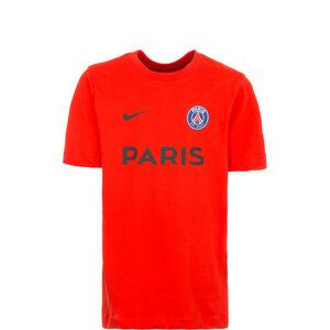 Paris St.-Germain Core Match T-Shirt Kinder, rot, zoom bei OUTFITTER Online