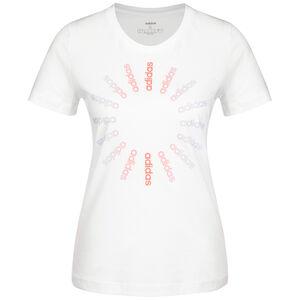 Crcld 1 T-Shirt Damen, weiß / korall, zoom bei OUTFITTER Online