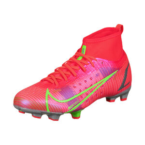 Mercurial Superfly 8 Pro DF FG Fußballschuh Kinder, neonrot / pink, zoom bei OUTFITTER Online