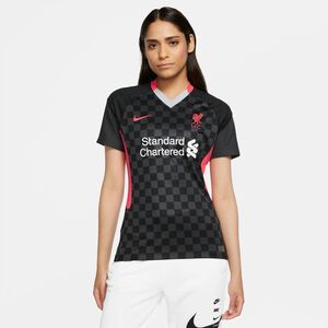 FC Liverpool Trikot 3rd Stadium 2020/2021 Damen, anthrazit / rot, zoom bei OUTFITTER Online