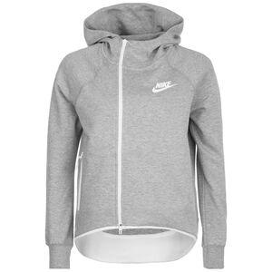 Tech Fleece Kapuzenjacke Damen, grau / weiß, zoom bei OUTFITTER Online