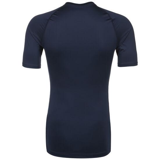 Pro Trainingsshirt Herren, dunkelblau / weiß, zoom bei OUTFITTER Online